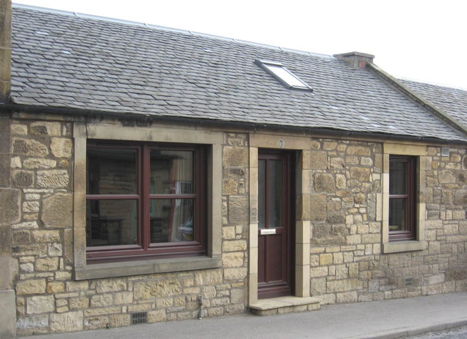 What we do edinburgh masonry for Building a stone house