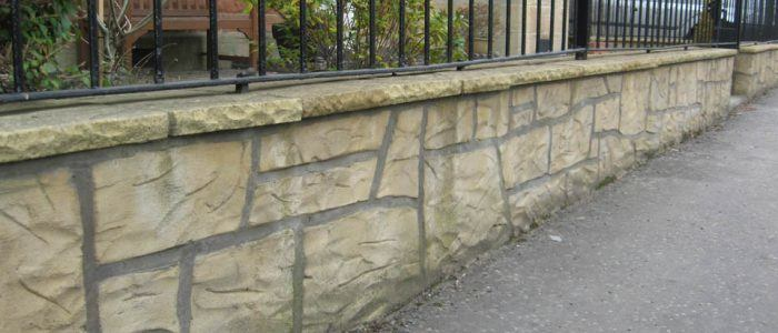 Garden Wall Masonry Work