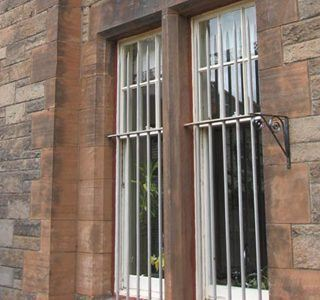 Stone Building In Edinburgh